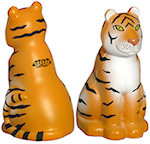 Sitting Tiger Stress Balls